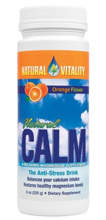 Natural Calm, 8 oz Orange