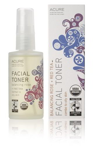 Facial Toner Balancing Rose + Red Tea, 2 oz