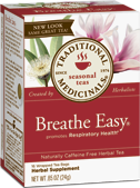 Breathe Easy, 16 Tea Bags .85 oz