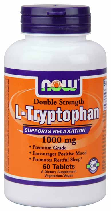 L-Tryptophan 1000 mg - 60 Tablets