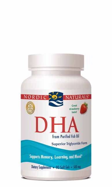 DHA, 90 Softgels Strawberry