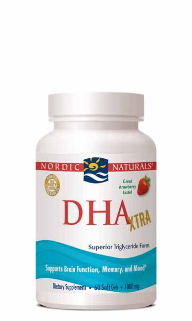 DHA Xtra, 60 Softgels Strawberry