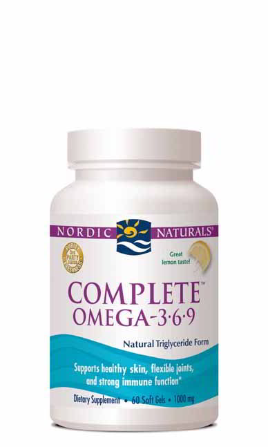 Complete Omega 3.6.9, 60 Softgels Lemon