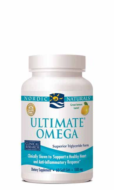Ultimate Omega, 60 Softgels Lemon