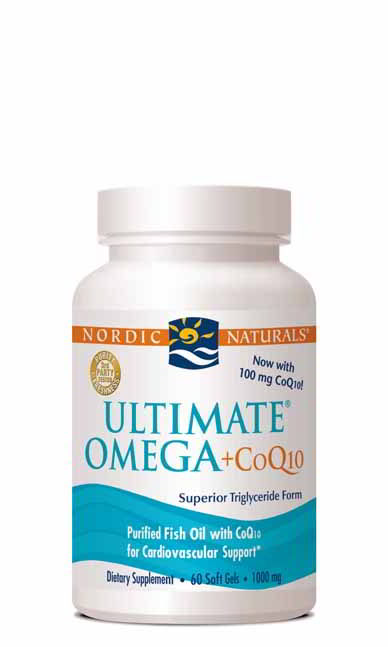 Ultimate Omega +CoQ10, 60 Softgels