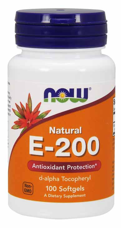 Vitamin E-200 IU, 100 Softgels