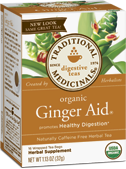 Ginger Aid Organic, 16 Tea Bags 1.13 oz