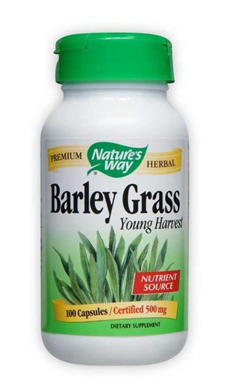 Barley Grass Young Harvest, 100 Caps
