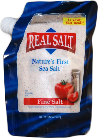 Real Salt, 26 oz