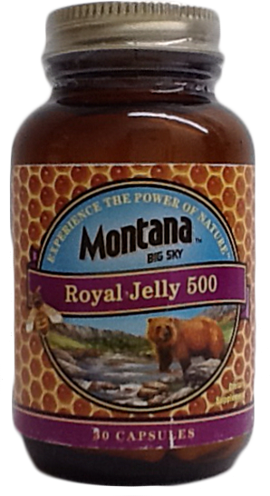 Royal Jelly 500 mg, 30 Cap