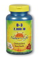Vitamin D-3 2000 IU, 240 Softgels