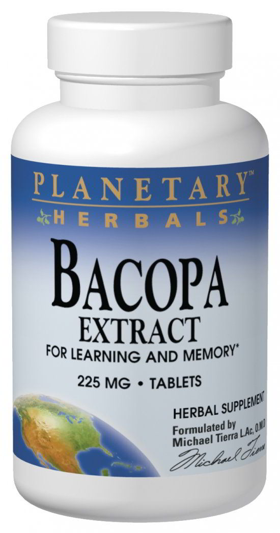 Bacopa Extract 225 mg, 120 Tab