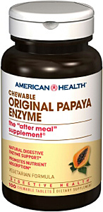 Original Papaya Enzyme, 100 Chewable Tab