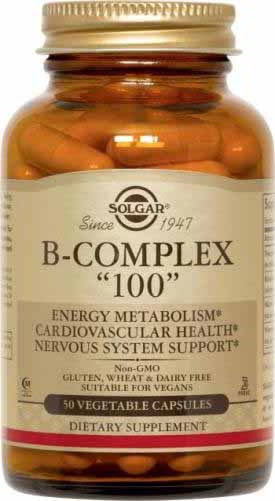 B-Complex 100, 50 Vegetable Caps