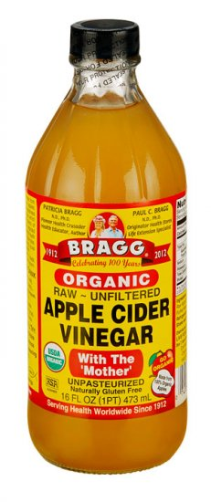 Apple Cider Vinegar Organic, 16 oz