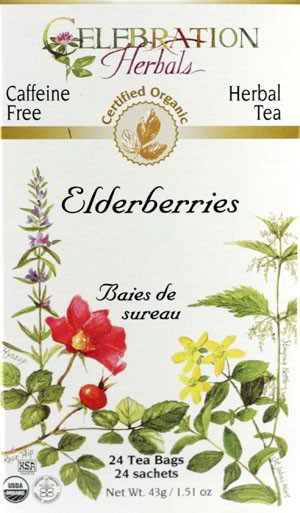 Elderberries Organic, 24 Tea Bags 1.51 oz