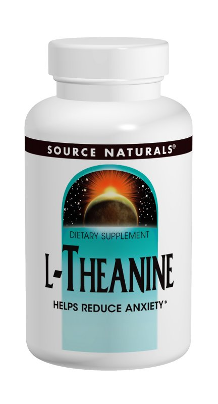 L-Theanine 200 mg, 30 Tab