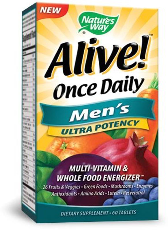 Alive! Once Daily Men's, 60 Tabs