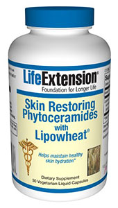 Skin Restoring Phytoceramides with Lipowheat, 30 Veg Liquid Caps