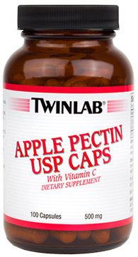 Apple Pectin 500 mg, 100 Caps