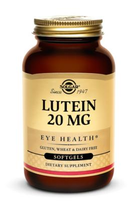 Lutein 20 mg, 60 Softgels