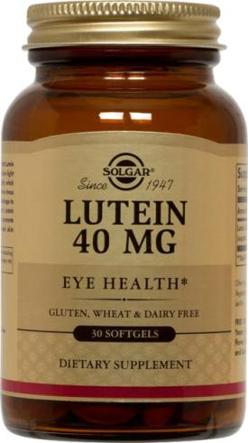Lutein 40 mg, 30 Softgels