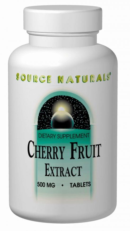 Cherry Fruit Extract 500 mg, 90 Tab