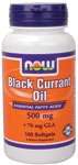 Black Currant Oil 500 mg, 100 Softgels