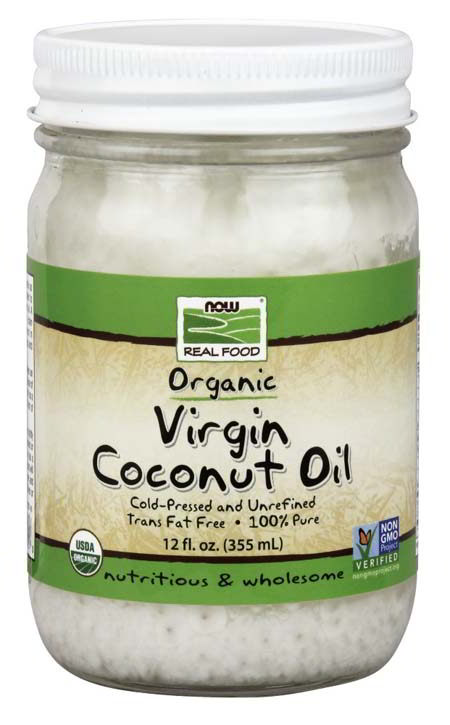Coconut Oil Virgin , Certified Organic, 12 oz