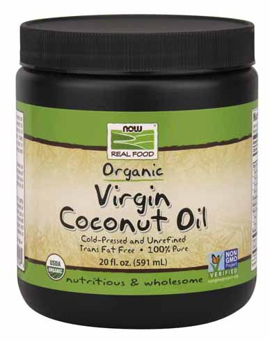 Virgin Coconut Oil, Certified Organic, 20 oz