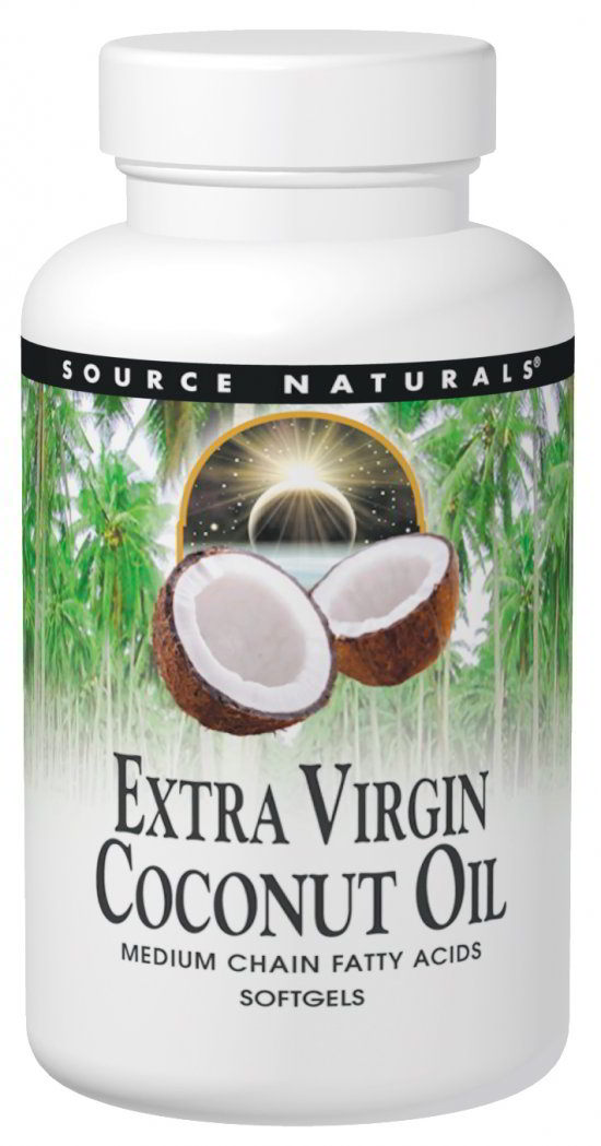 Coconut Oil (Extra Virgin), 120 softgels