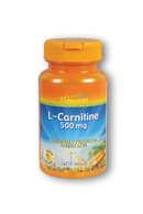 L-Carnitine 500 mg, 30 Cap