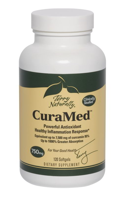 CuraMed 750 mg, 120 Softgels