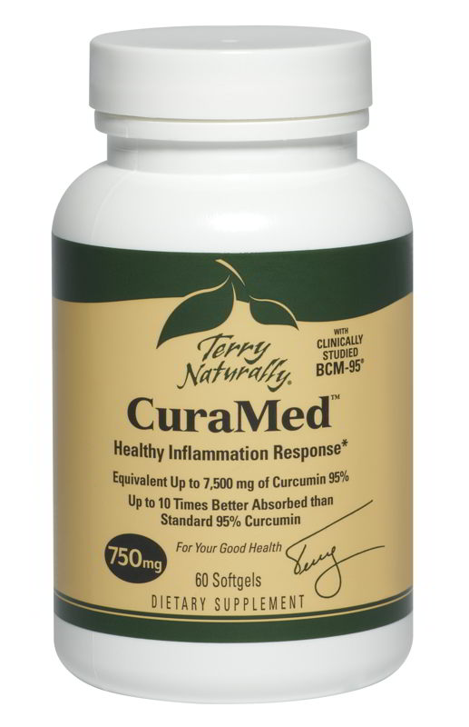 CuraMed 750 mg, 60 Softgels