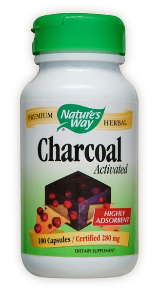 Charcoal Activated, 100 caps
