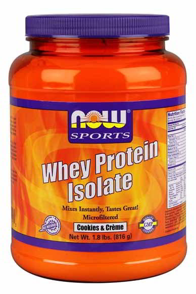 Whey Protein Isolate - Cookies & Creme, 1.8 lbs.
