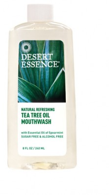 Tea Tree Oil Mouthwash, 8 fl oz