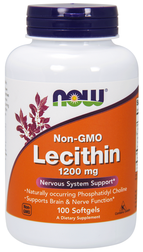 Lecithin 1200 mg, 100 Gels