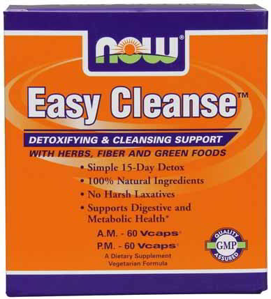 Easy Cleanse- A.M. 60 Vcaps, P.M. 60 Vcaps