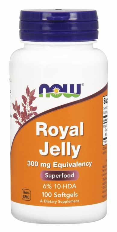 Royal Jelly 300 mg, 100 Softgels