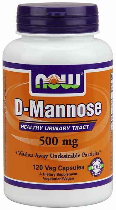 D Mannose 500 mg, 120 Caps