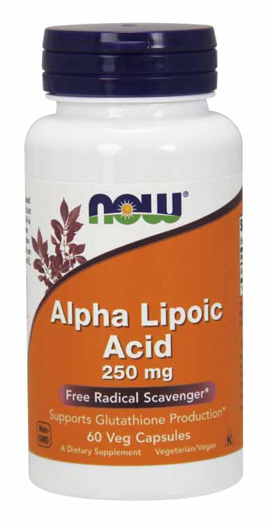 Alpha Lipoic Acid 250 mg, 60 Vcaps
