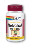 Black Cohosh Extract One Daily 180mg, 30 Caps