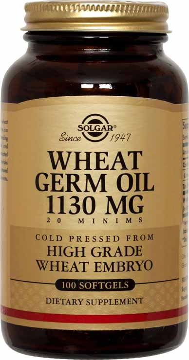 Wheat Germ Oil 1130 mg, 100 Softgels