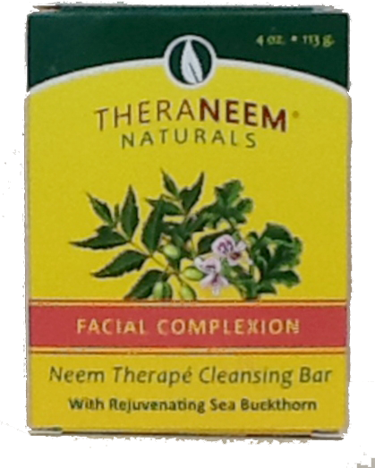 TheraNeem Facial Complexion Bar, 4 oz