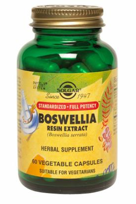 Boswellia Resin Extract SFP, 60 Vegetable Capsule