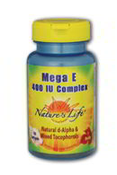 Mega E 400iu, 50 Softgels