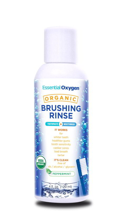 Organic Brushing Rinse, 4 oz