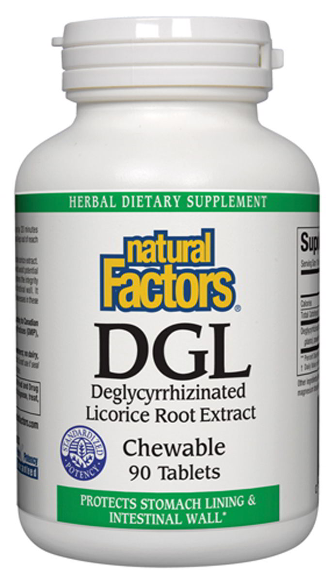 DGL Licorice Chewable, 400 mg Chewable Tablets