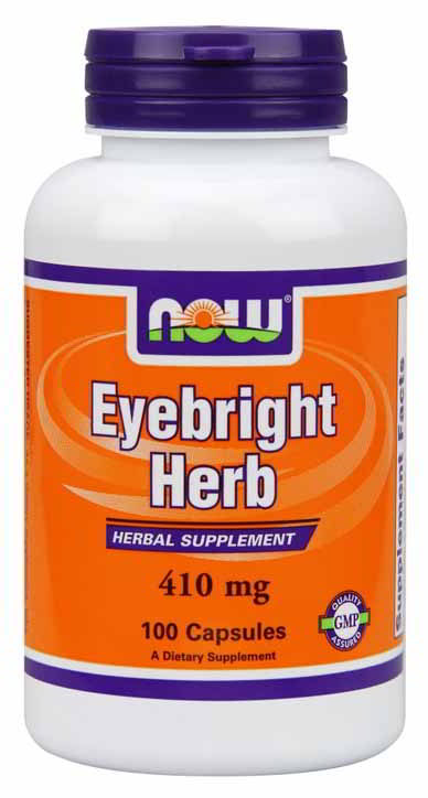 Eyebright Herb 410 mg, 100 Capsules